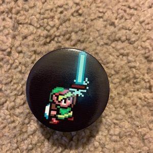 Legend Of Zelda mobile phone grip / phone holder